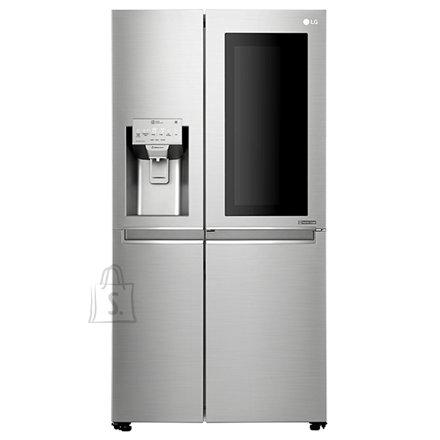LG LG Refrigerator GSX961NSAZ A++, Free standing, Side by Side, Height 179 cm, No Frost system, Fridge net capacity 405 L, Freezer net capacity 196 L, Display, 39 dB, Inox