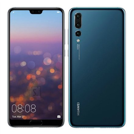"Huawei P20 Pro Blue 6.1"" nutitelefon"