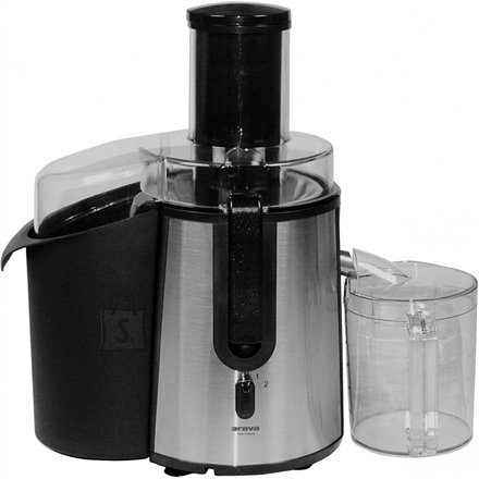 Orava ORAVA Juicer OS-109 A Type Centrifugal, Black/ stainless steel, 850 W, Extra large fruit input, Number of speeds 2, 1800 RPM