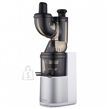 Orava ORAVA Juicer OS-151 A Type Slow juicer, Black/ white, 200 W, Extra large fruit input, Number of speeds 1, 43 RPM