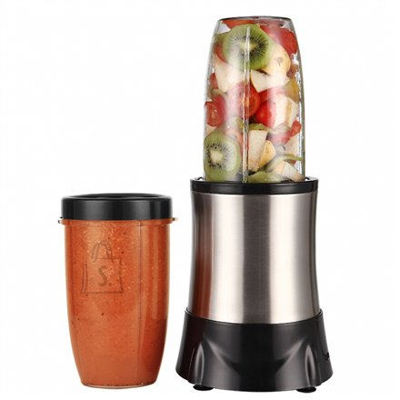 Orava ORAVA Smoothie Blender RM-1000 S Black/ stainless steel, 1000 W, BPA free plastic parts, 0.7 and 1  L, 20000 RPM, Type Personal blender