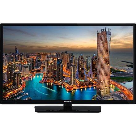 """Hitachi Hitachi 32HE1000 32"""" (81 cm), HD Ready LED, 1366 x 768 pixels, DVB - T/T2/C/S/S2, Black"""