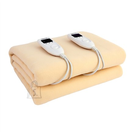 Camry Camry Electric blanket CR 7408  Number of heating levels 5, Number of persons 2, Washable, Soft polar fleece, 2 x 60 W, Beige