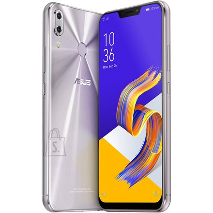 "Asus Asus Zenfone 5Z ZS620KL Meteor Silver, 6.2 "", IPS+, 1080 x 2246 pixels, Qualcomm Snapdragon 845, Internal RAM 8 GB, 256 GB, Micro SD, Dual SIM, Nano SIM, 4G, Main camera 12 MP, Secondary camera 8 MP, Android, 8.0, 3300 mAh"