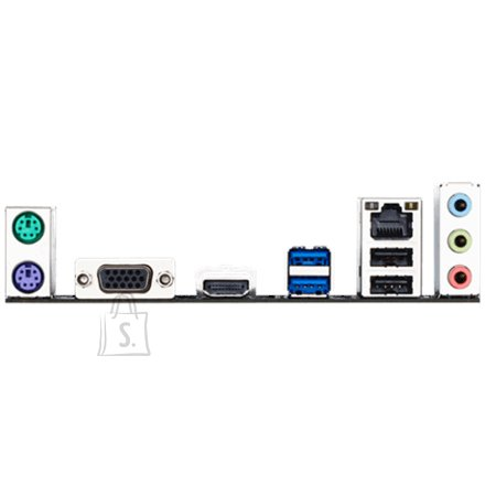 Gigabyte Gigabyte GA-H110M-H (rev. 1.0) Processor family Intel, Processor socket LGA1151, DDR4 DIMM, Memory slots 2, Chipset Intel H, Micro ATX