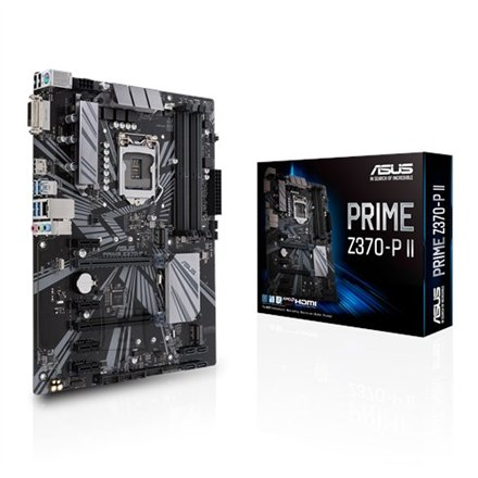 Asus Asus PRIME Z370-P II Processor family Intel, Processor socket LGA1151, DDR4, Memory slots 4, Chipset Intel Z, ATX