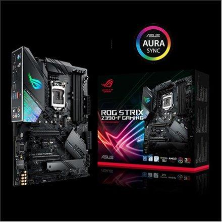 Asus Asus ROG STRIX Z390-F GAMING Processor family Intel, Processor socket LGA1151, DDR4, Memory slots 4, Chipset Intel Z, ATX