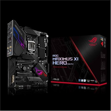Asus Asus ROG MAXIMUS XI HERO (WIFI)/CE Processor family Intel, Processor socket LGA1151, DDR4, Memory slots 4, Chipset Intel Z, ATX