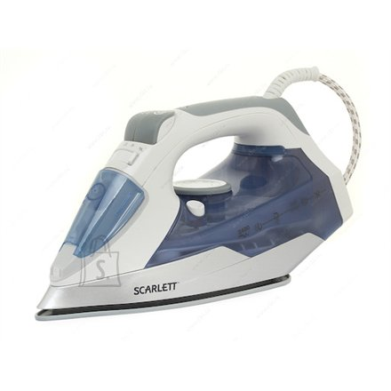 Scarlett Scarlett SC - SI30K15 Blue, 2400 W, Steam iron, Continuous steam 40 g/min, Steam boost performance 120 g/min, Auto power off, Anti-drip function, Anti-scale system, Vertical steam function