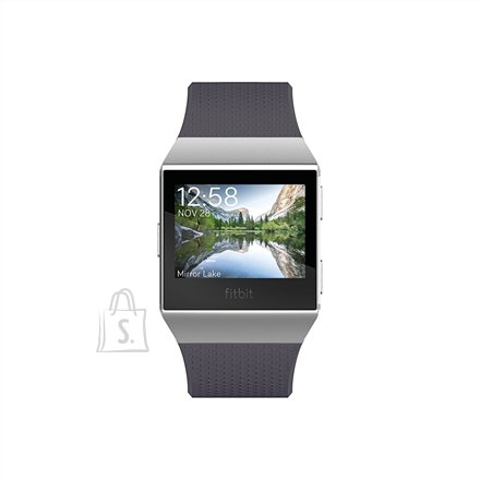 Fitbit Fitbit Ionic Colour LCD, 320 g, Touchscreen, Bluetooth, Heart rate monitor, Charcoal/Smoke Gray, GPS (satellite)