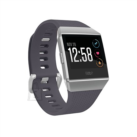 Fitbit Fitbit Ionic Colour LCD, 320 g, Touchscreen, Bluetooth, Heart rate monitor, Blue Gray/White, GPS (satellite)