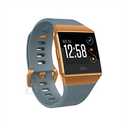 Fitbit Fitbit Ionic Colour LCD, 320 g, Touchscreen, Bluetooth, Heart rate monitor, Slate Blue/Burnt Orange, GPS (satellite)