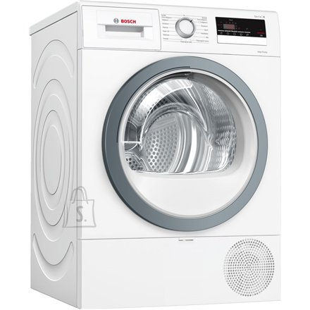 Bosch Bosch Dryer mashine WTR85VS8SN Condensed, Sensitive dry, 8 kg, Energy efficiency class A++, Self-cleaning, White, LED, Depth 60 cm,