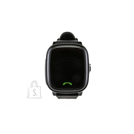 Sponge Kids Tracker See 2 Black, Built-in pedometer, GPS (satellite), Waterproof