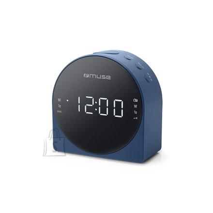 Muse Muse Dual Alarm Clock radio PLL M-185CBL AUX in,