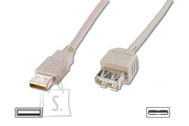 Logilink Logilink USB 2.0 extender cable  USB A female, USB A male, 1.8 m, Black