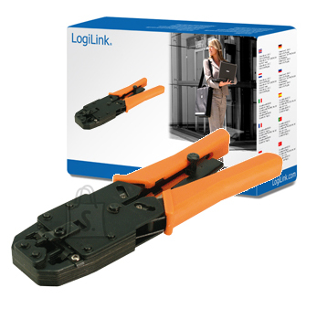 Logilink Logilink Crimping tool universal with cutter and isolater metal
