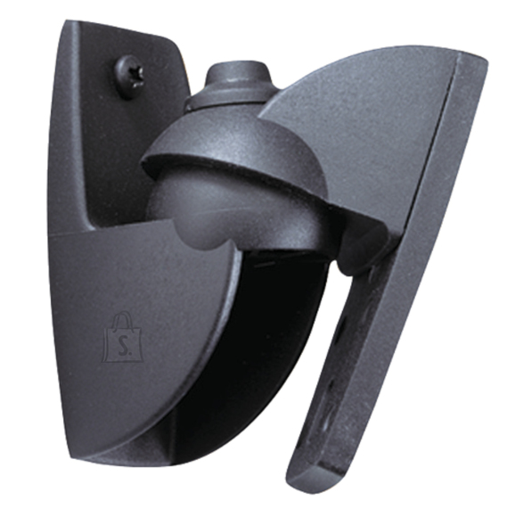 Vogels Loudspeaker Wall mount, VLB500 2 pcs., Turn, Tilt, Maximum weight (capacity) 5 kg, Black