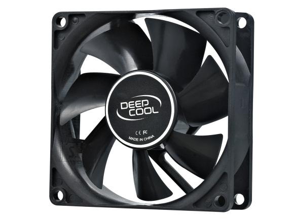 Deepcool 80mm case ventilation fan, 2 Pin; hydro bearing, deepcool