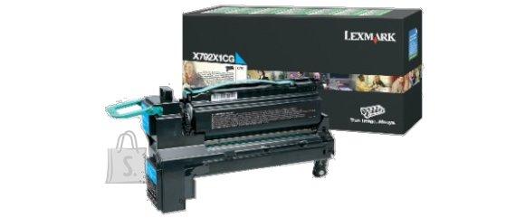 Lexmark Lexmark X792X1CG Toner Cartridge, Cyan, 20000 pages