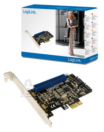 Logilink Logilink 2x SATA 6 GBit/s and 1x IDE PCIe, RAID 0, 1