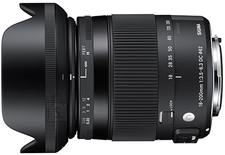 Sigma Sigma 18-200mm F3.5-6.3 DC Macro OS HSM* Nikon [CONTEMPORARY]
