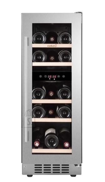Cata CATA Wine cooler VINOTECA VI 30017 X Built-in, Bottles capacity 17, Inox/  transparent
