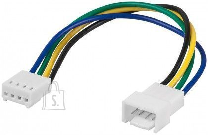 Goobay Goobay 95311 <br /> PC fan power extension cable; 4-pin male/female