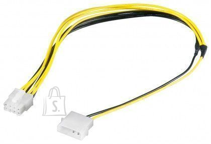 Goobay Goobay 50694 <br /> PC power cable/adapter; 5.25 inch male to EPS; 8-pin