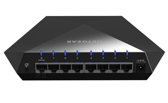 Netgear Netgear Nighthawk S8000 Gaming and Streaming Switch  Web Management, Desktop, 1 Gbps (RJ-45) ports quantity 8