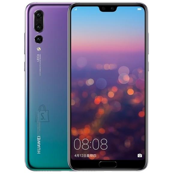 "Huawei Huawei P20 Pro Twilight, 6.1 "", AMOLED, 1080 x 2240 pixels, HiSilicon Kirin, 970, Internal RAM 6 GB, 128 GB, Single SIM, Nano-SIM, 3G, 4G, Main camera Triple 40+20+8 MP, Secondary camera 24 MP, Android, 8.1, 4000 mAh"