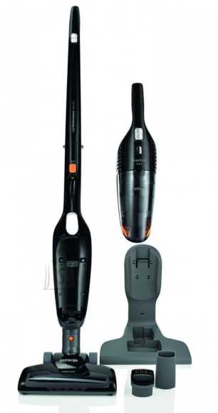 Gorenje Gorenje Vacuum cleaner SVC144FBK Handstick 2in1, Black, 0.6 L, HEPA filtration system, Cordless, 14.4 V, 38 min