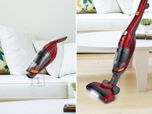 Gorenje Gorenje Vacuum cleaner SVC216FS Handstick 2in1, Red, 0.6 L, HEPA filtration system, 60 min, 21.6 V, Cordless