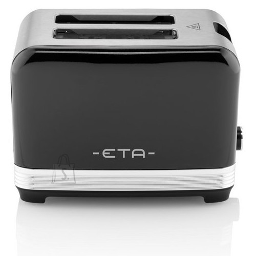 ETA ETA STORIO Toaster ETA916690020 Black, Stainless steel, 930 W, Number of power levels 7,