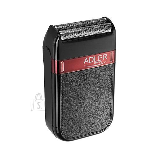 Adler Adler Shaver AD 2923 Cordless, Charging time 1 h, Operating time 45 min, Wet use, NiMH, Number of shaver heads/blades 1, Black