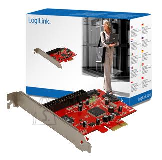 Logilink Logilink 2 x SATA ports, 1 xIDE PCIe, 0, 1, JBOD
