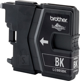 Brother Brother LC985BK Ink Cartridge, Black