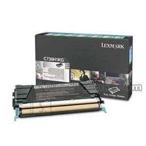 Lexmark Lexmark C736H1KG Cartridge, Black, 12000 pages