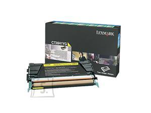 Lexmark Lexmark C736H1YG Cartridge, Yellow, 10000 pages