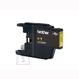 Brother Brother LC-1240Y Ink Cartridge, Yellow