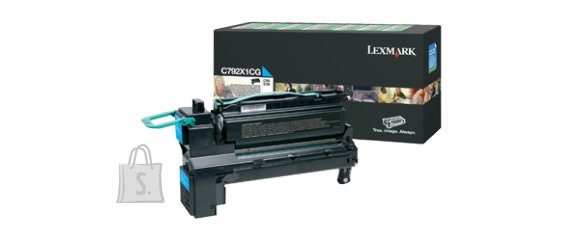 Lexmark Lexmark C792X1CG Cartridge, Cyan, 20000 pages