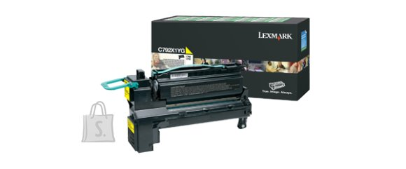 Lexmark Lexmark C792X1YG Cartridge, Yellow, 20000 pages