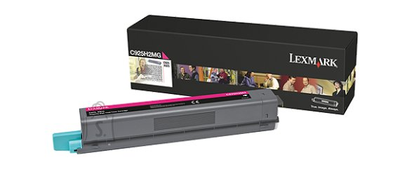 Lexmark Lexmark C925H2MG Cartridge, Magenta, 7500 pages