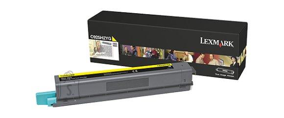 Lexmark Lexmark C925H2YG Cartridge, Yellow, 7500 pages