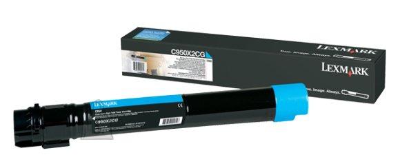 Lexmark Lexmark C950X2CG Cartridge, Cyan, 22000 pages