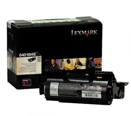 Lexmark Lexmark 64016HE Cartridge, Black, 21000 pages