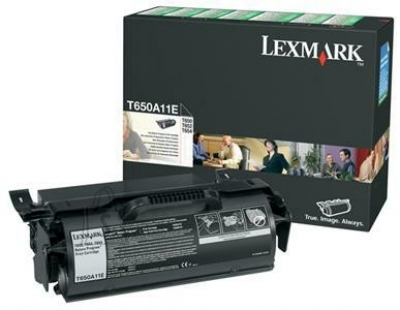 Lexmark Lexmark T650A11E Cartridge, Black, 7000 pages