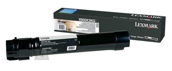 Lexmark Lexmark X950X2KG Cartridge, Black, 38000 pages