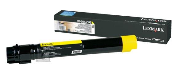 Lexmark Lexmark X950X2YG Cartridge, Yellow, 22000 pages