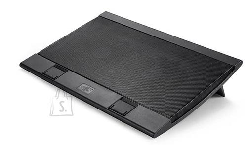 "Deepcool deepcool Laptop cooler Wind Pal FS , slim, portabel , highe performance, two 140mm fans, 2 xUSB Hub, up tp 17""   382x262x46mm mm"